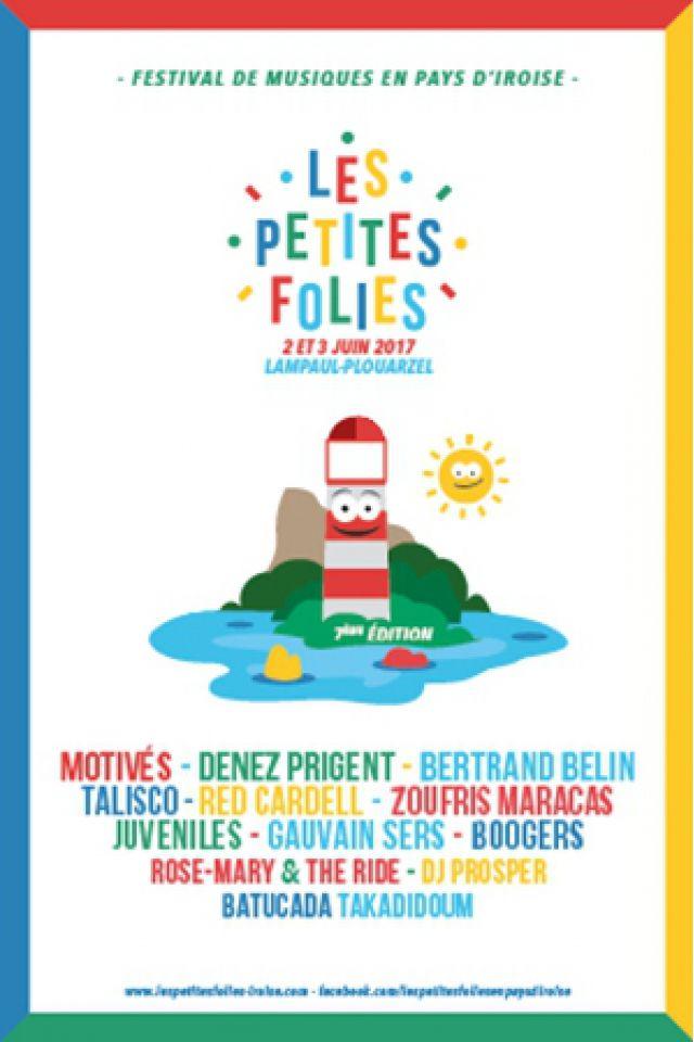 LES PETITES FOLIES 2017 - TALISCO, BOOGERS, ZOUFRIS MARACAS @ Théâtre de verdure - LAMPAUL PLOUARZEL