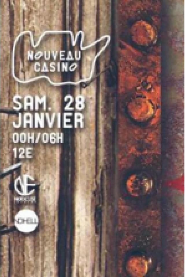 DILIGENCE @ Le Nouveau Casino - Paris