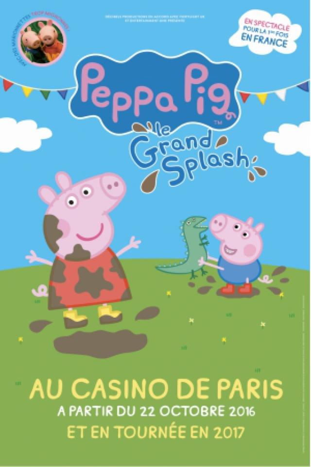 PEPPA PIG - LE GRAND SPLASH @ Espace Dollfus & Noack - SAUSHEIM