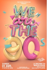 Soirée We Are The 90's #90 >> Anniversaire !!!