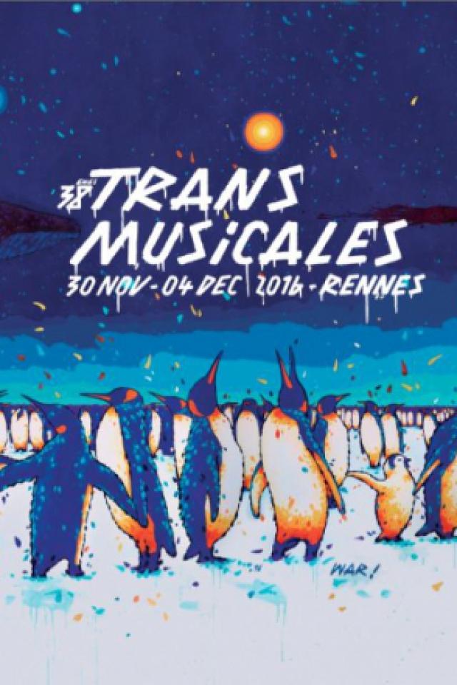 38ÈMES RENCONTRES TRANS MUSICALES DE RENNES // PARC EXPO-VENDREDI @ PARC des EXPOSITIONS Rennes Aéroport  - BRUZ