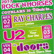 FESTIVAL ROCK'N HORSES  FOUR EVER ONE    TRIBUTE U2