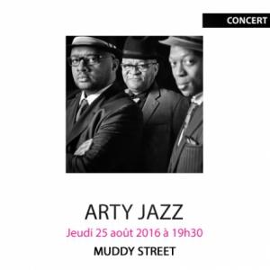 ARTY JAZZ - MUDDY STREET @ Gallifet Art Center - AIX EN PROVENCE