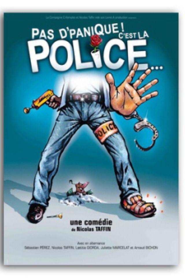 PAS D'PANIQUE C'EST LA POLICE... @ LE K - KABARET CHAMPAGNE MUSIC HALL - TINQUEUX