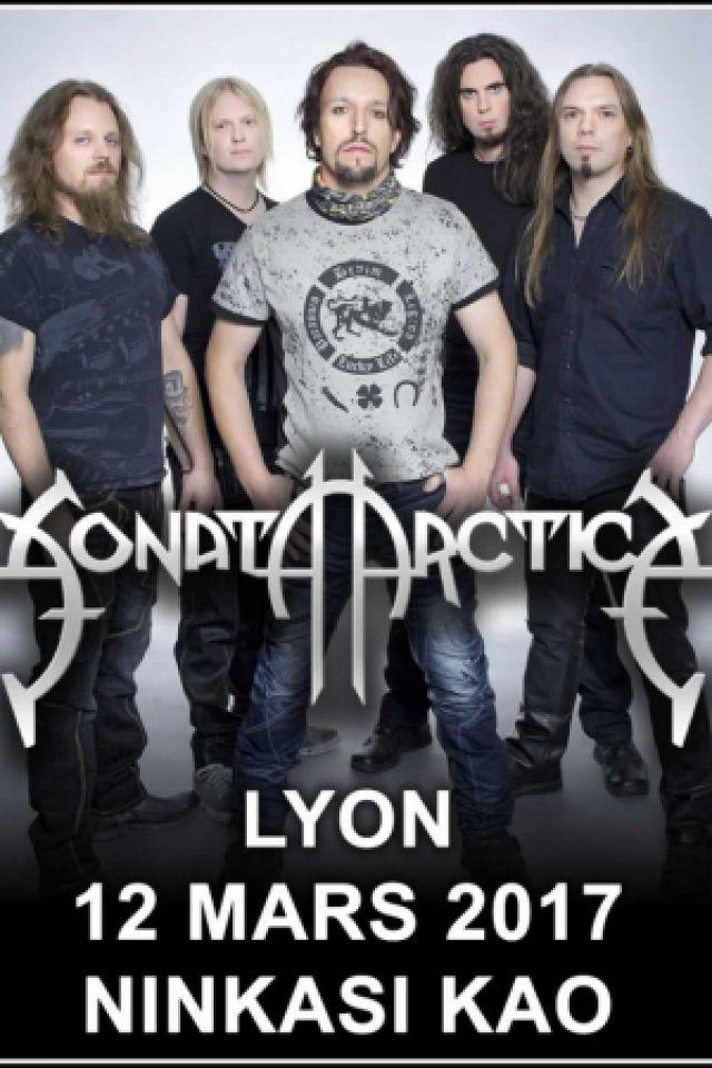 Concert Sonata Arctica - Lyon @ Ninkasi kao - Billets & Places