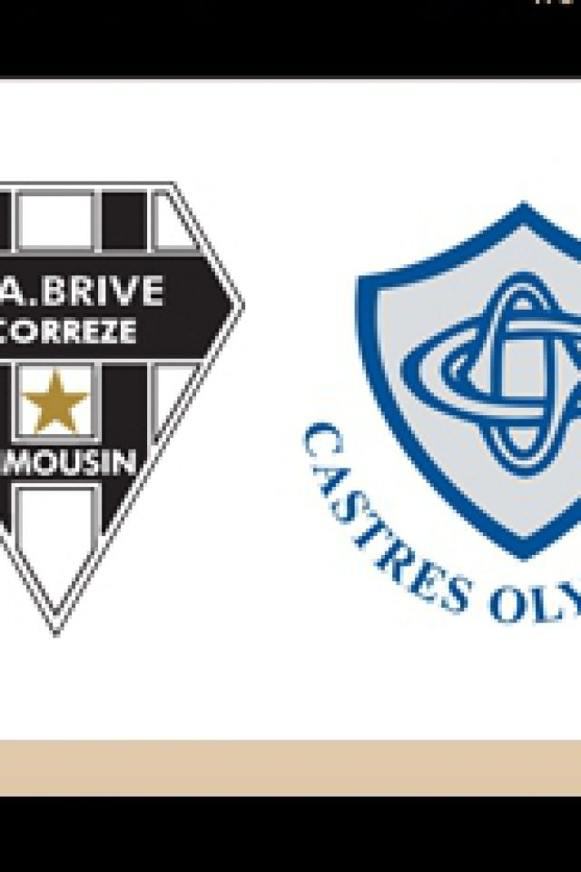 CA BRIVE CORREZE LIMOUSIN - CASTRES OLYMPIQUE @ Stade Municipal - BRIVE LA GAILLARDE