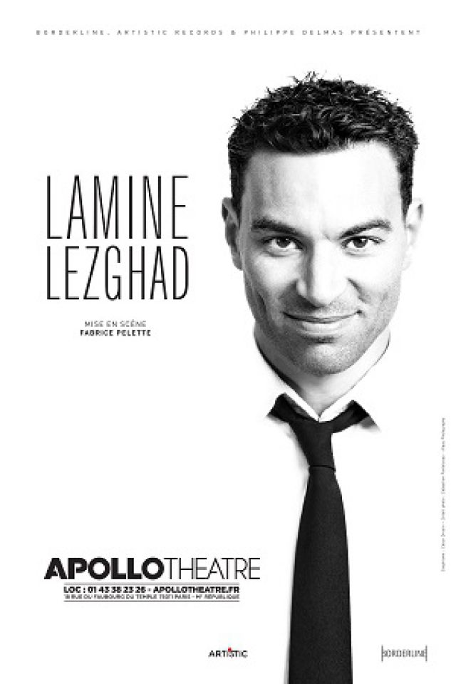 Lamine Lezghad  @ APOLLO THEATRE - PARIS