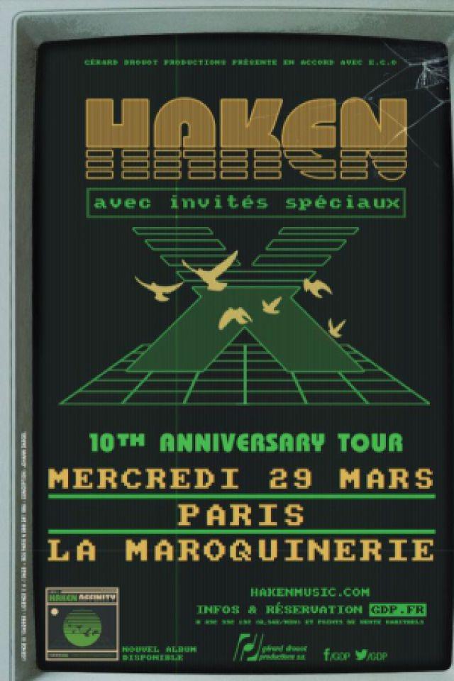 HAKEN @ La Maroquinerie - PARIS