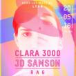 Soir�e WET FOR ME : JD SAMSON + CLARA 3000...