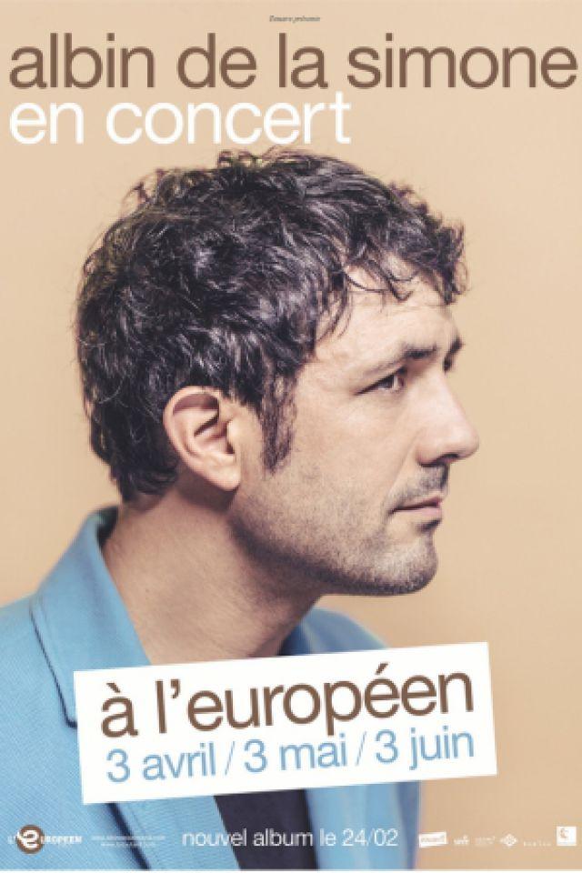 Concert Albin de la Simone à Paris @ L'Européen - Billets & Places