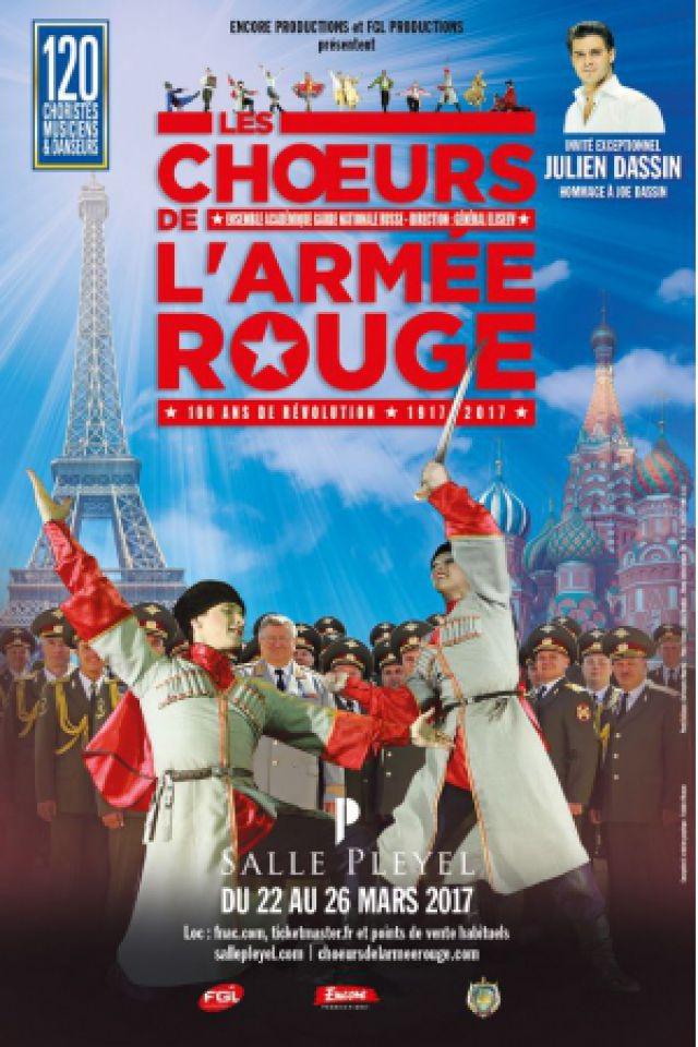 LES CHŒURS DE L'ARMEE ROUGE - MVD @ Salle Pleyel - Paris