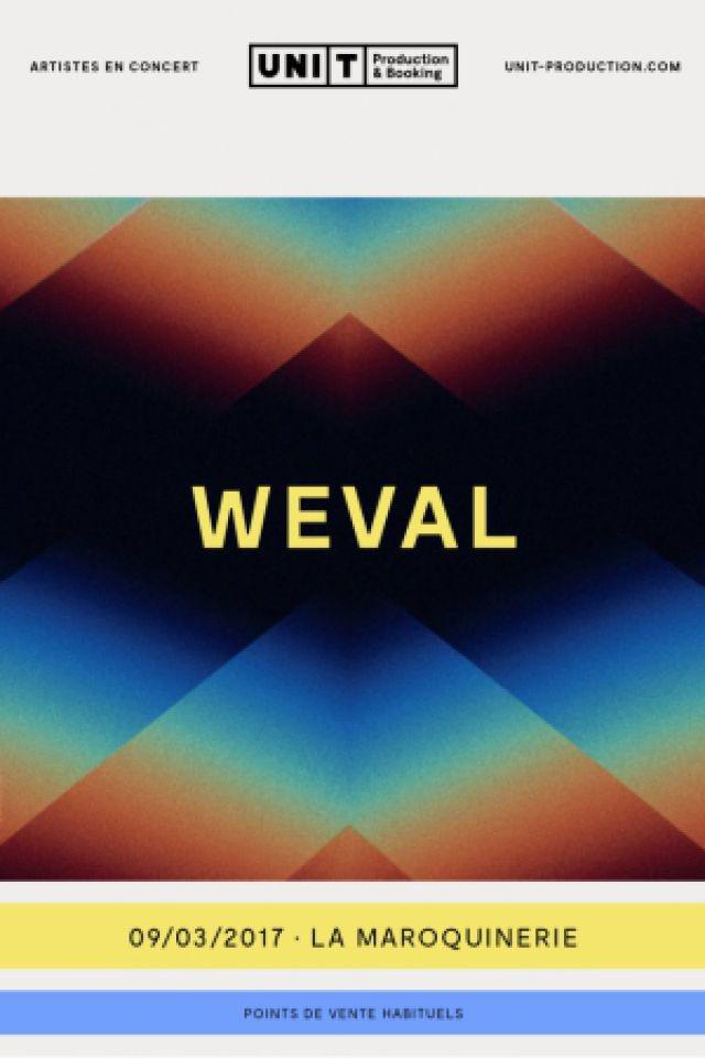 WEVAL + DAVID DOUGLAS @ La Maroquinerie - PARIS