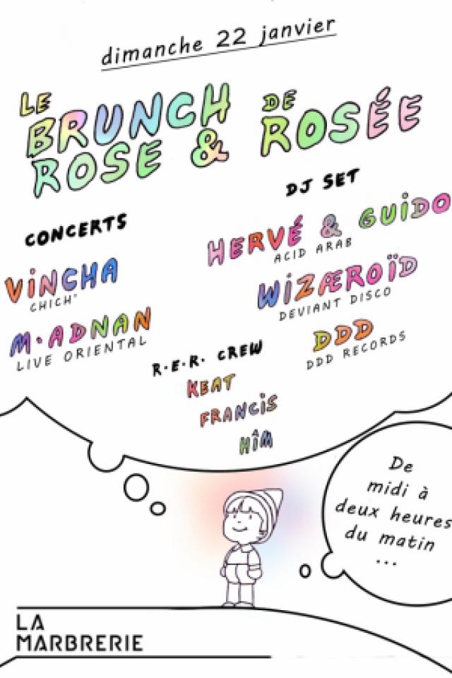 Le Brunch de Rose et Rosée @ La Marbrerie - MONTREUIL