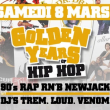 Soirée GOLDEN YEARS of HIP-HOP