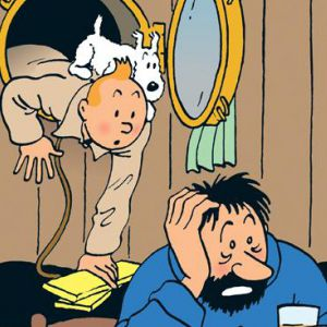 Expo HERGE - VISITE GUIDEE FAMILLE