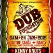 Concert DUB FOUNDATION : KENNY KNOTS + LEGAL SHOT