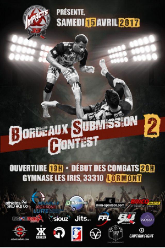 Bordeaux Submission Contest 2 @ Maison des Sports des Iris - LORMONT
