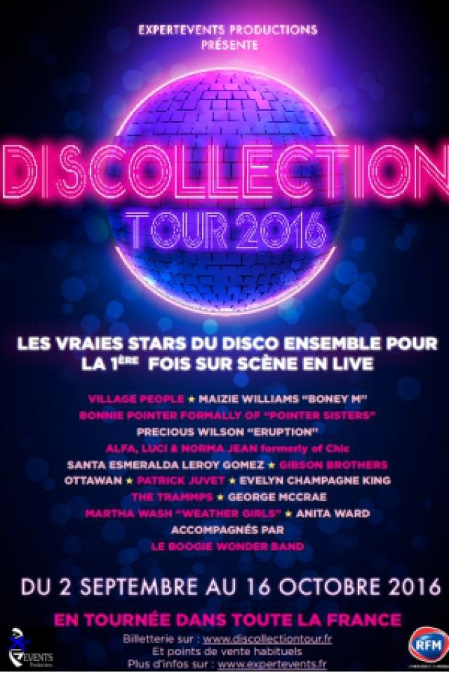 DISCOLLECTION TOUR 2016 @ LE CUBE - Parc des Expositions - Troyes