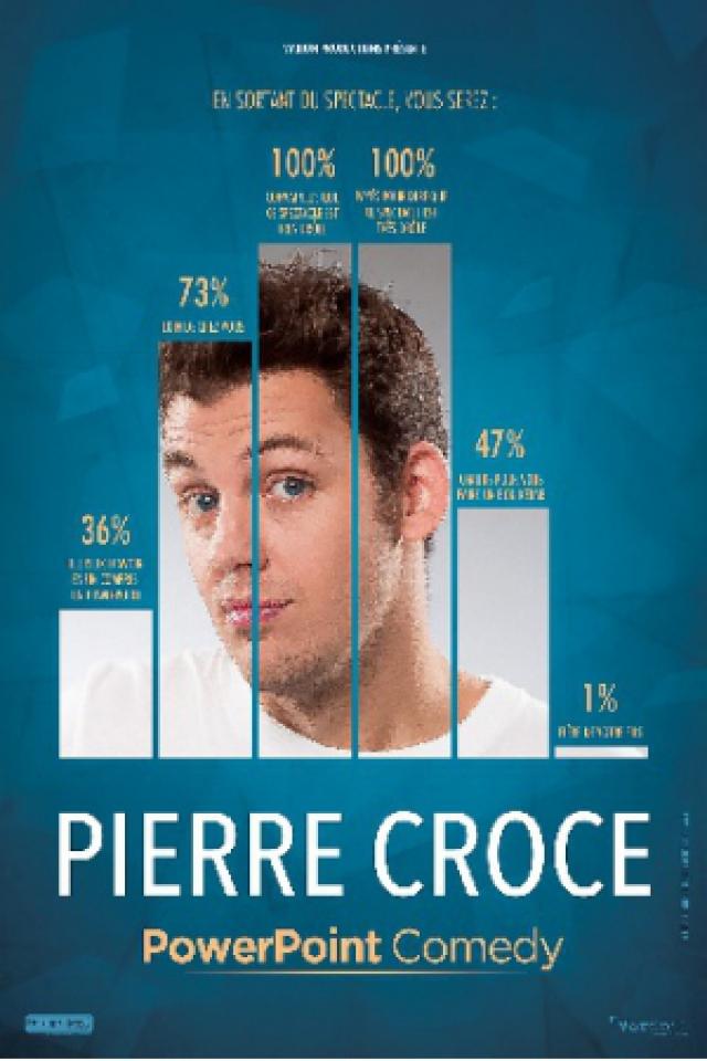PIERRE CROCE - POWERPOINT COMEDY  @ Espace Julien - Marseille