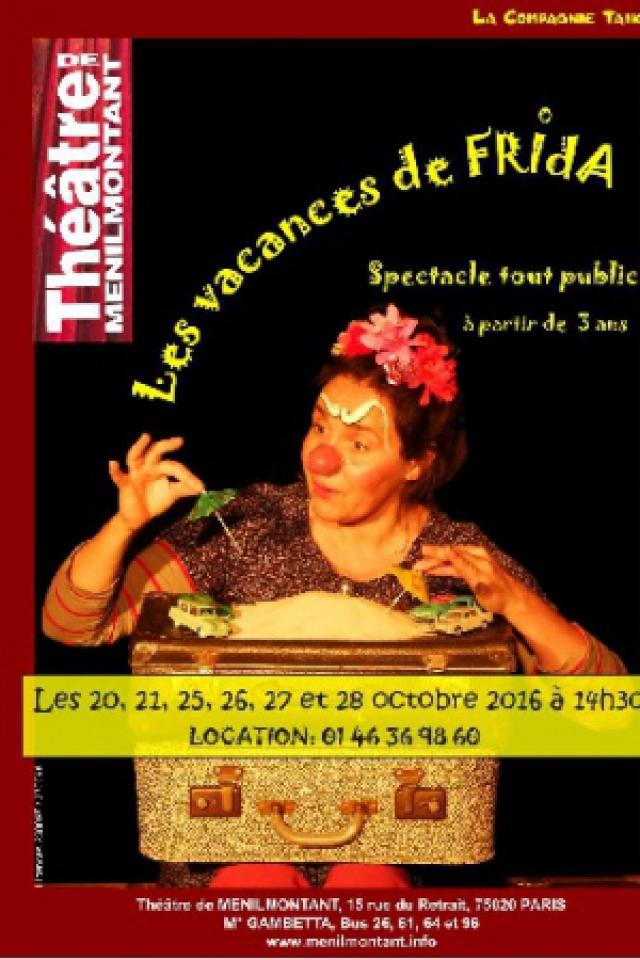 Les vacances de Frida @ Théâtre de Ménilmontant - Le Labo - Paris