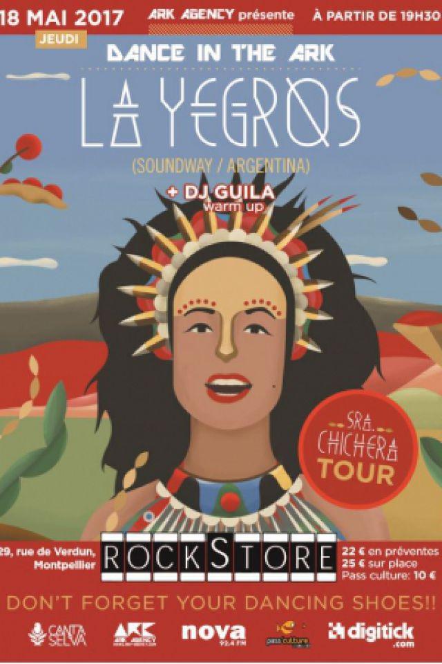 LA YEGROS + Guila (DJ) @ Le Rockstore - Montpellier
