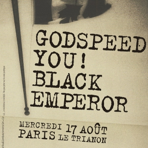 Concert GODSPEED YOU ! BLACK EMPEROR