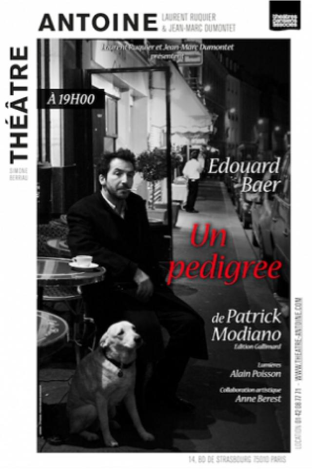 UN PEDIGRÉE @ Théâtre Antoine - Paris