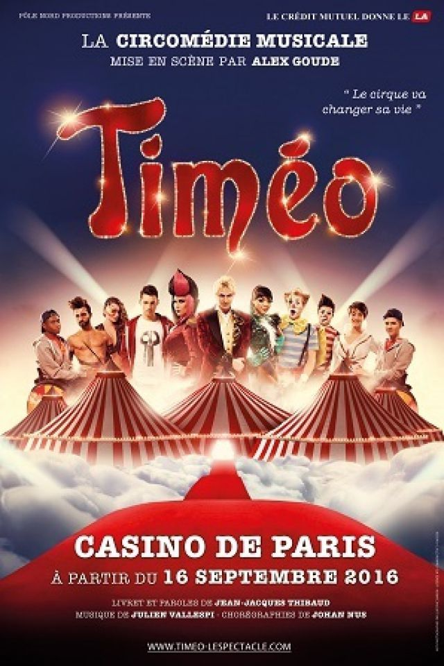 TIMEO @ Casino de Paris - Paris