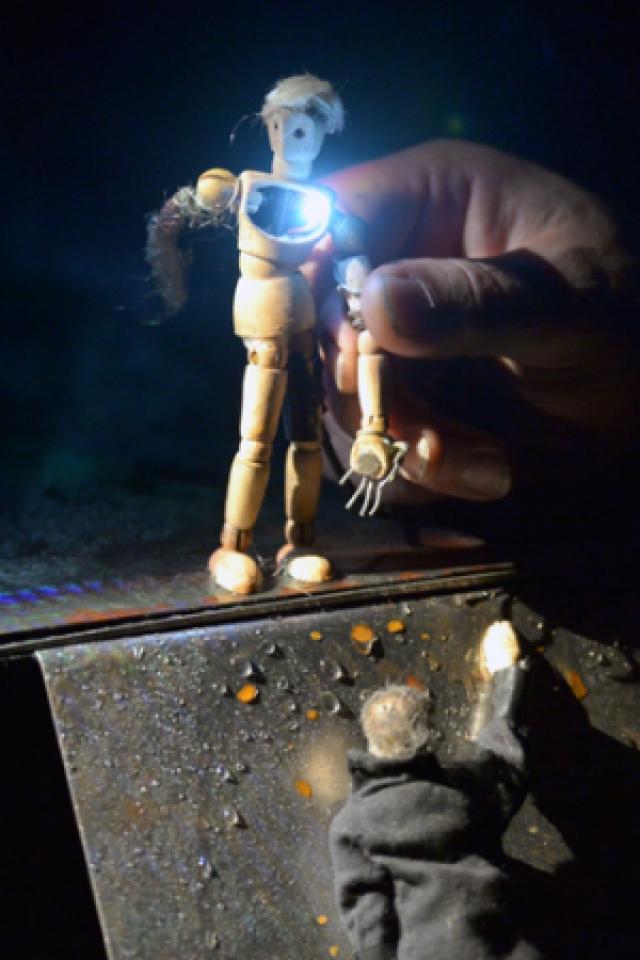 LE MYSTERE DES OREADES @ THEATRE DE L'ARCHIPEL - CARRE 12/13 - PERPIGNAN