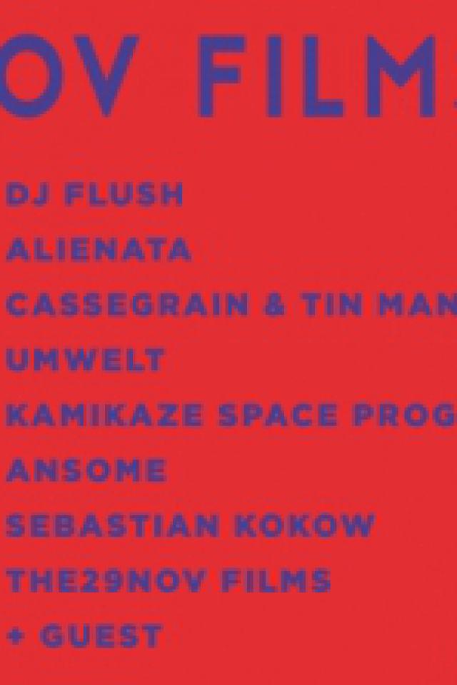 Killekill x the29nov films w/ Cassegrain & Tin Man, Ansome, Umwel @ Glazart - PARIS 19