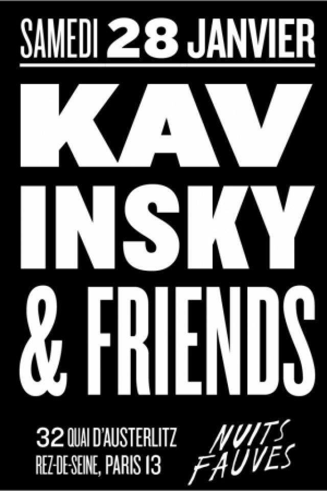 Soirée Kavinsky & Friends