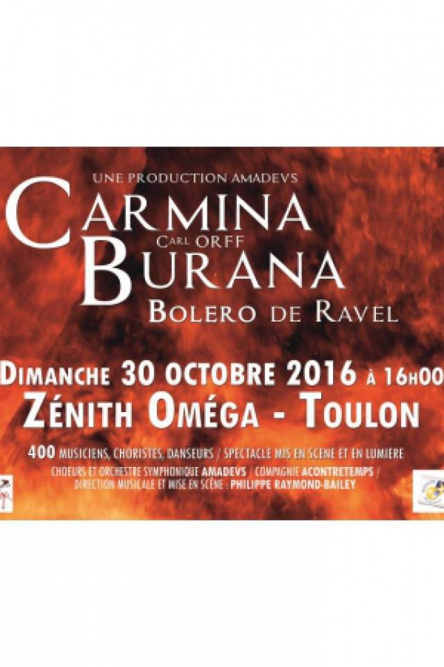 CARMINA BURANA de C.ORFF et  BOLERO de RAVEL @ Zénith Oméga - Toulon