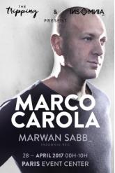 Soirée INSOMNIA & THE TRIPPING | 00H >> 10H | MARCO CAROLA - MARWAN SABB