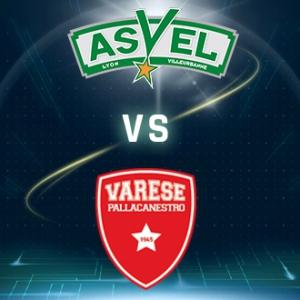 ASVEL - VARESE @ Astroballe - Villeurbanne