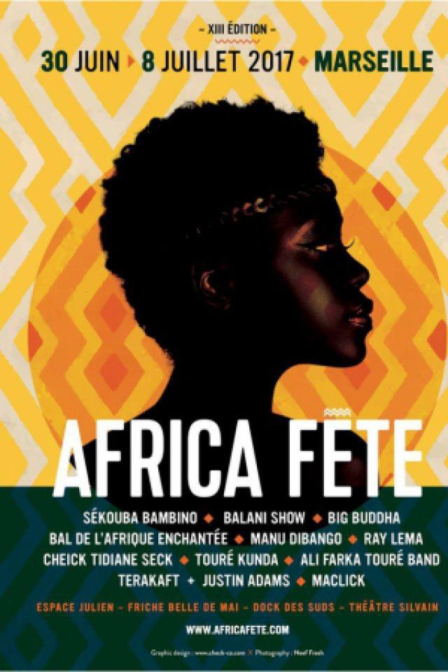 Africa Fête 13e édition - PASS 3 SOIRÉES  @ Espace Julien/Docks des Suds/Theâtre Silvain - MARSEILLE