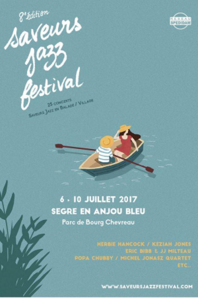 """SAVEURS JAZZ FESTIVAL - PASS 5 JOURS """"Pass Gastronome"""" @ Parc de Bourg-Chevreau - SEGRÉ"""