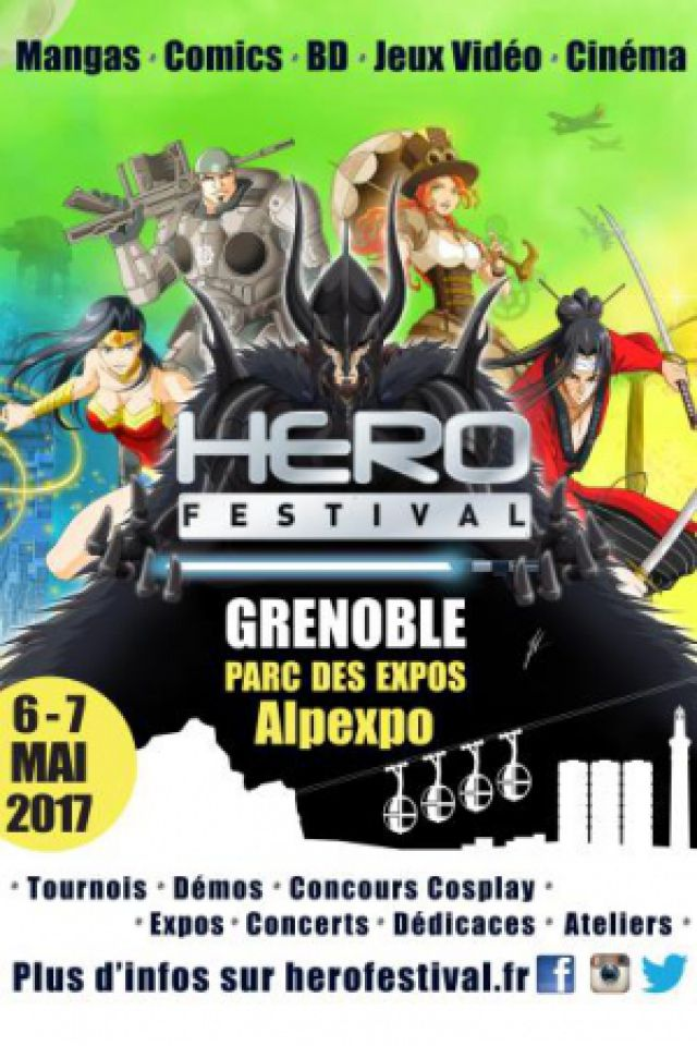 HEROFESTIVAL SAMEDI 2017 @ Alpexpo - GRENOBLE