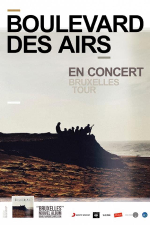 Concert BOULEVARD DES AIRS - Bruxelles Tour
