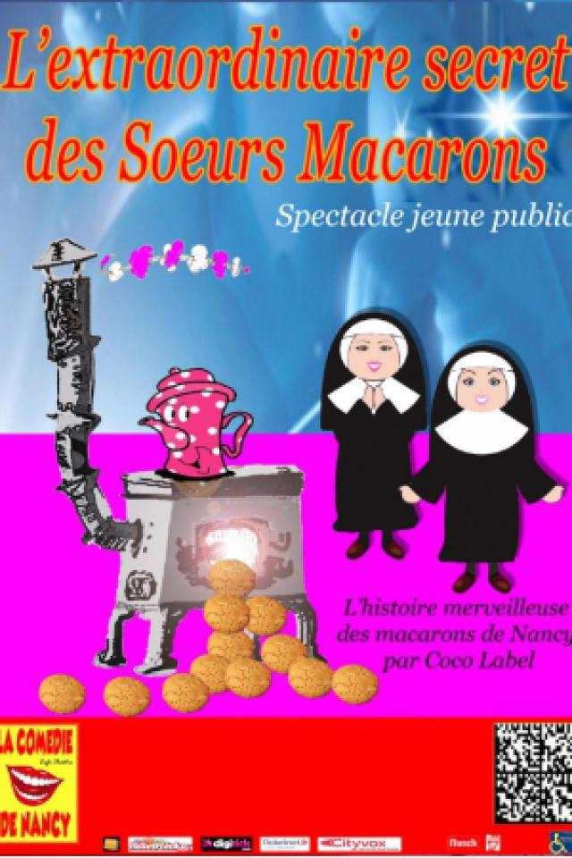 L'extraordinaire secret des soeurs macarons @ Les Marionnettes de la Pépinière - NANCY