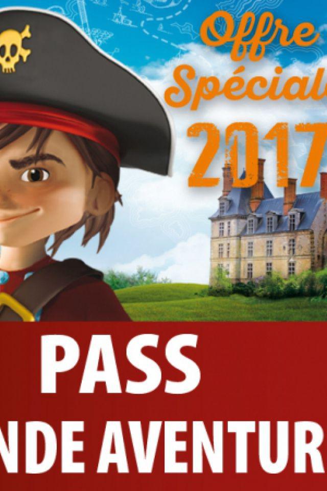 PASS GRANDE AVENTURE OFFRE 2017 (-20%) @ Château des Aventuriers - AVRILLÉ