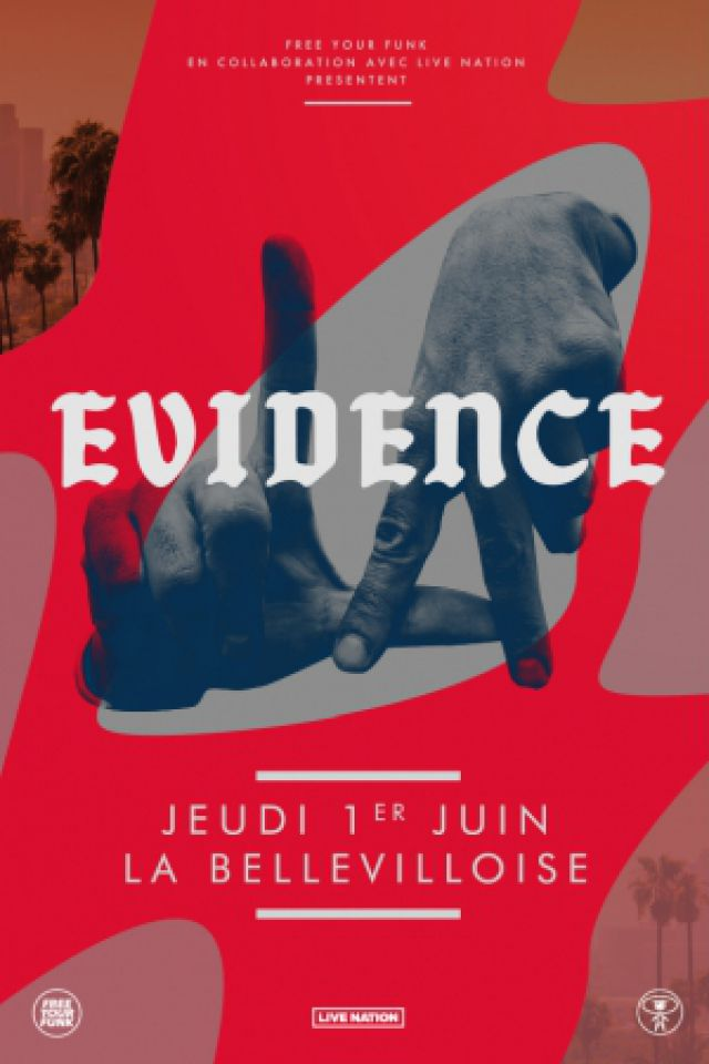 EVIDENCE @ La Bellevilloise - Paris