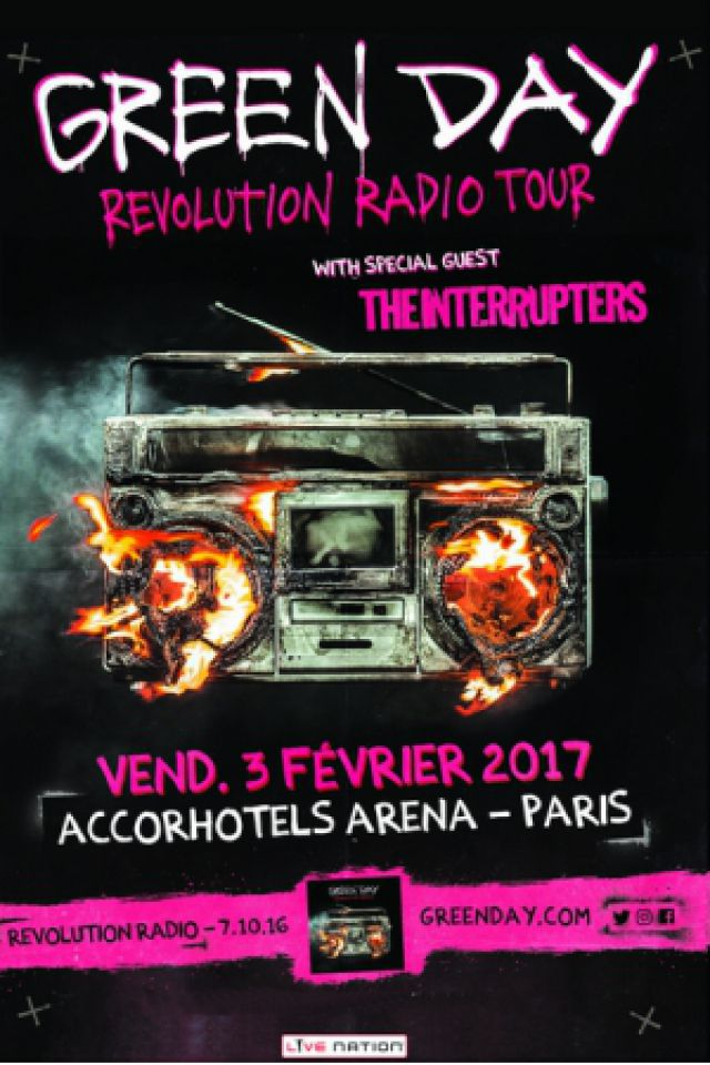 GREEN DAY @ ACCORHOTELS ARENA - PARIS 12