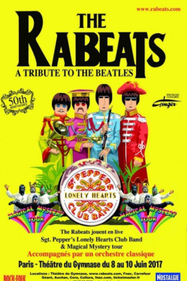 THE RABEATS - Hommage aux Beatles @ THEATRE DU GYMNASE - PARIS