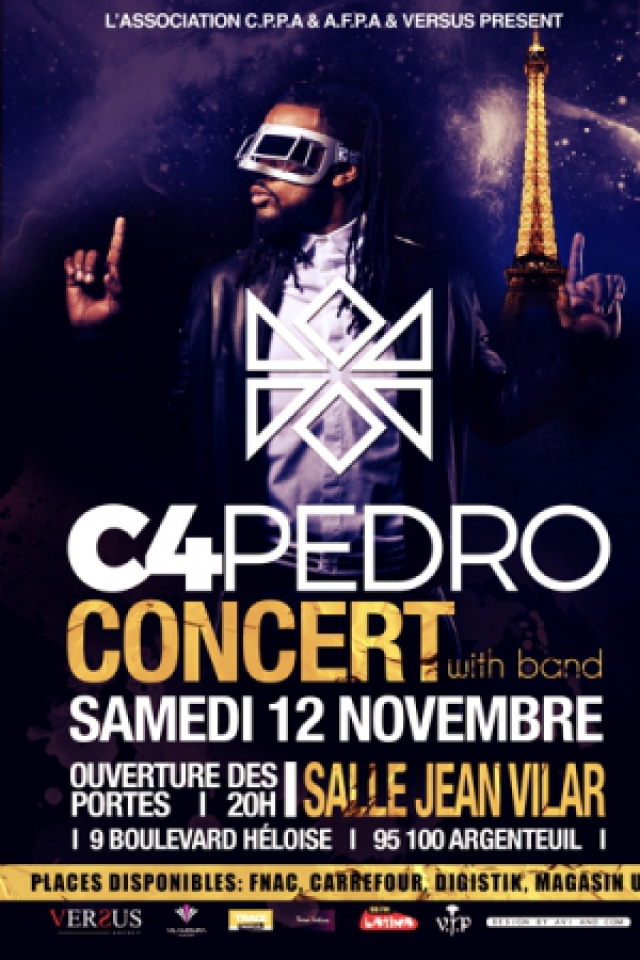 Concert C4PEDRO @ SALLE JEAN VILAR - ARGENTEUIL