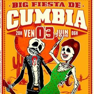 Carte BIG FIESTA DE CUMBIA