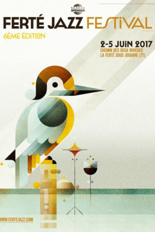 Festival Ferté Jazz - PASS 4 JOURS @ Chemin des Deux Rivières - LA FERTÉ SOUS JOUARRE