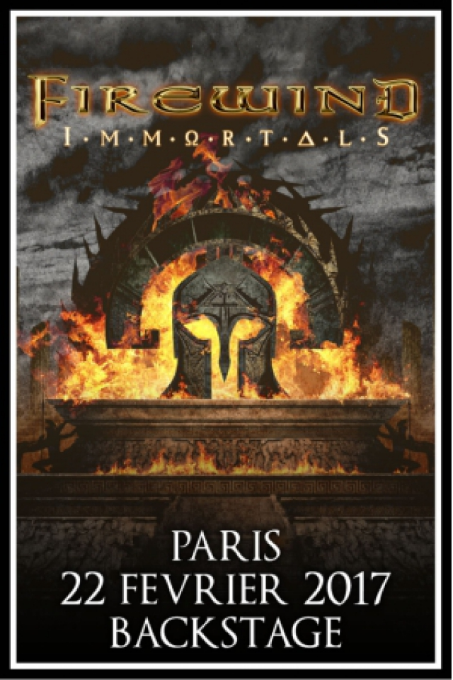 FIREWIND + Guest @ Le Backstage by The Mill - Paris