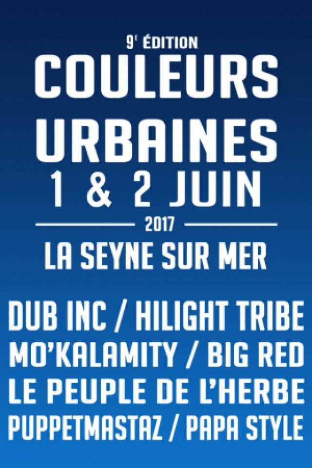 FESTIVAL COULEURS URBAINES 9ème édition - PASS 2 JOURS à LA SEYNE SUR MER @ Espace Circoscene - Chapiteaux de la mer - Billets & Places