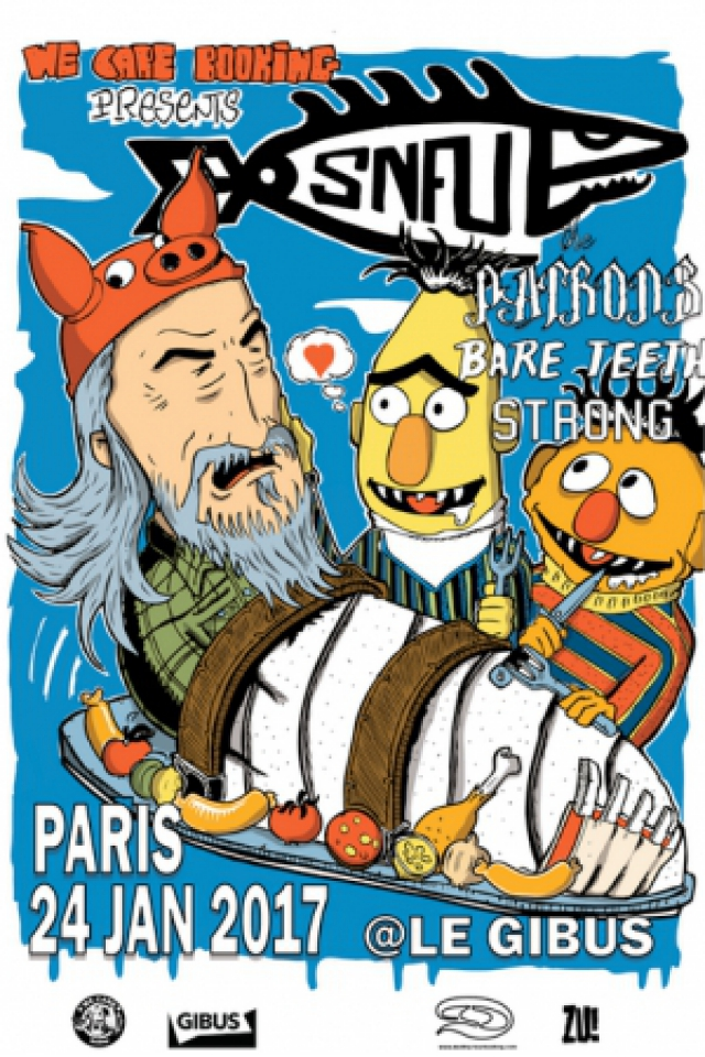 Billets SNFU + The Patrons + Bare Teeth + Strong - Le Gibus