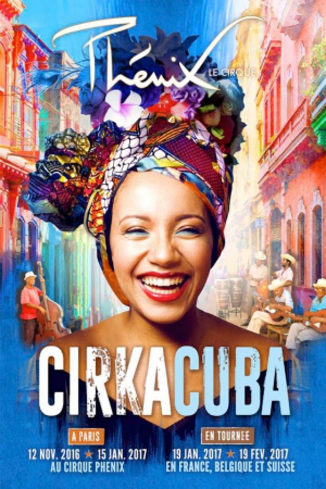 "CIRQUE PHENIX ""CIRKACUBA"" @ ZENITH PYRENEES - Pau"